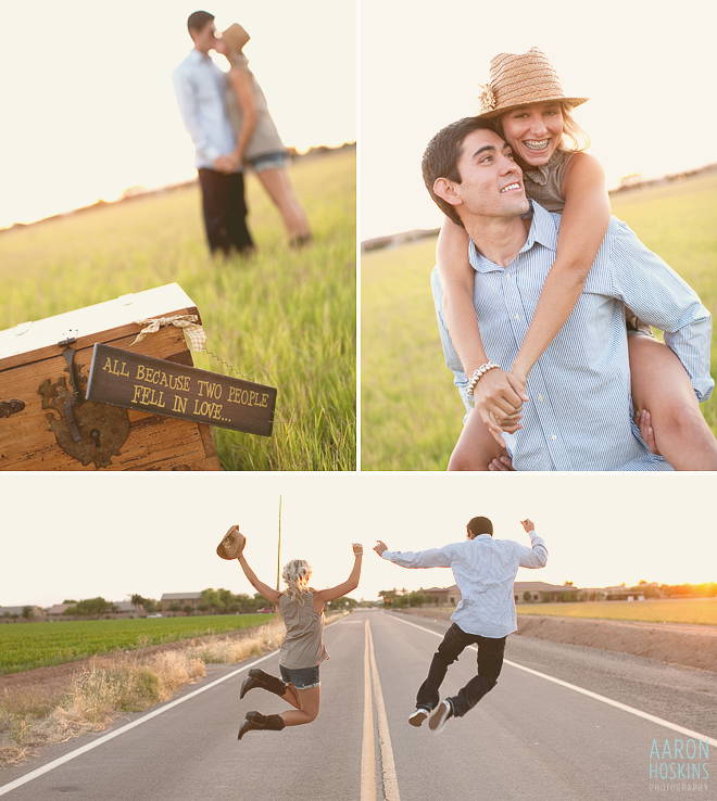Gilbert Arizona Engagement Session