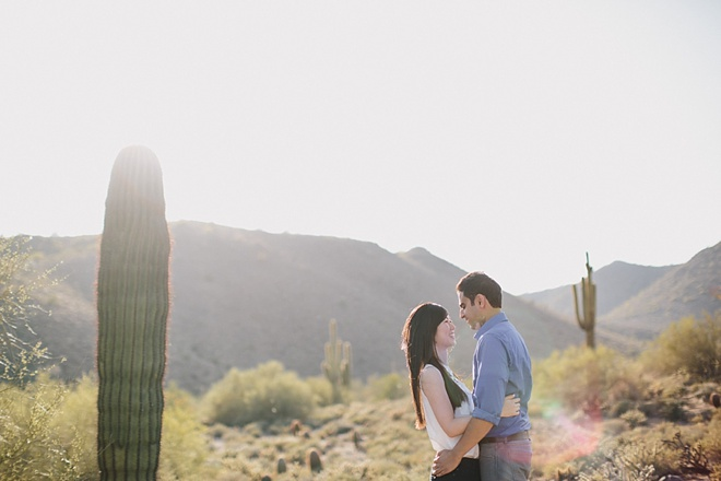 Aaron Hoskins Photography Desert Engagement Session